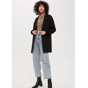 Topshop oversized slouch coat